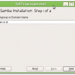 Samba PDC+OpenLDAP+File Server Pengganti Windows AD+File Server Bagian 4