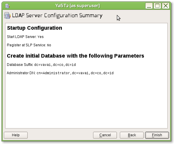 How To : Samba PDC+OpenLDAP on openSUSE/SLES Part 1