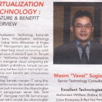 "Tulisan di Koran Sindo : ""Virtualization Technology, Feature & Benefit Overview"""